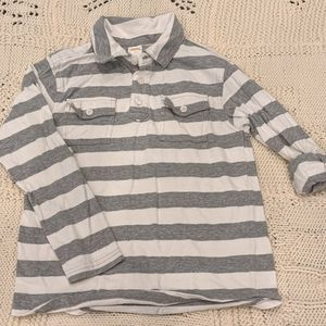 Boys striped gymboree polo 7